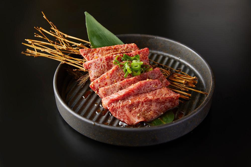 ※肉汁あふれる松阪牛カルビ