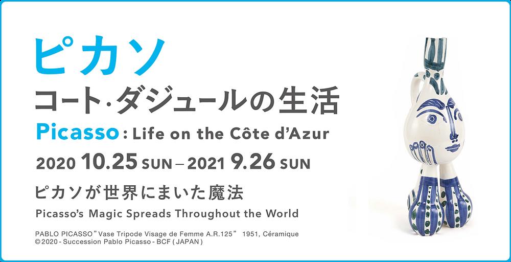 ピカソ『コート・ダジュールの生活』展 ヨックモックミュージアム