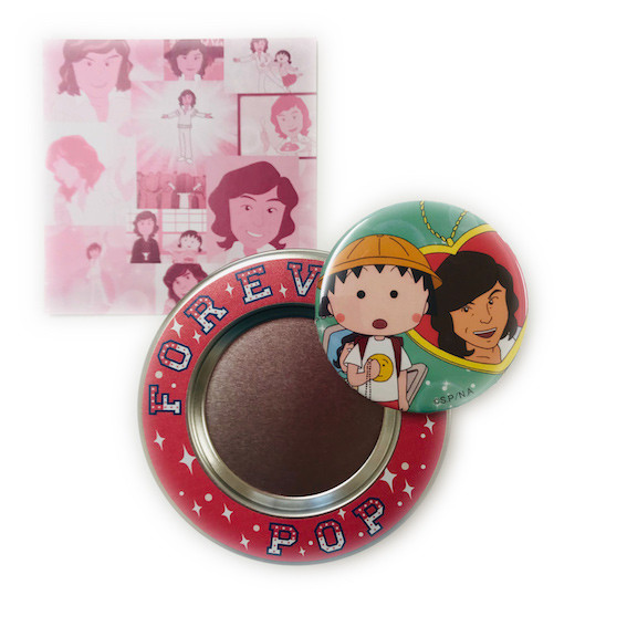 展覧会オリジナル ちびまる子ちゃんのマグネット付キャンディー缶1,000円