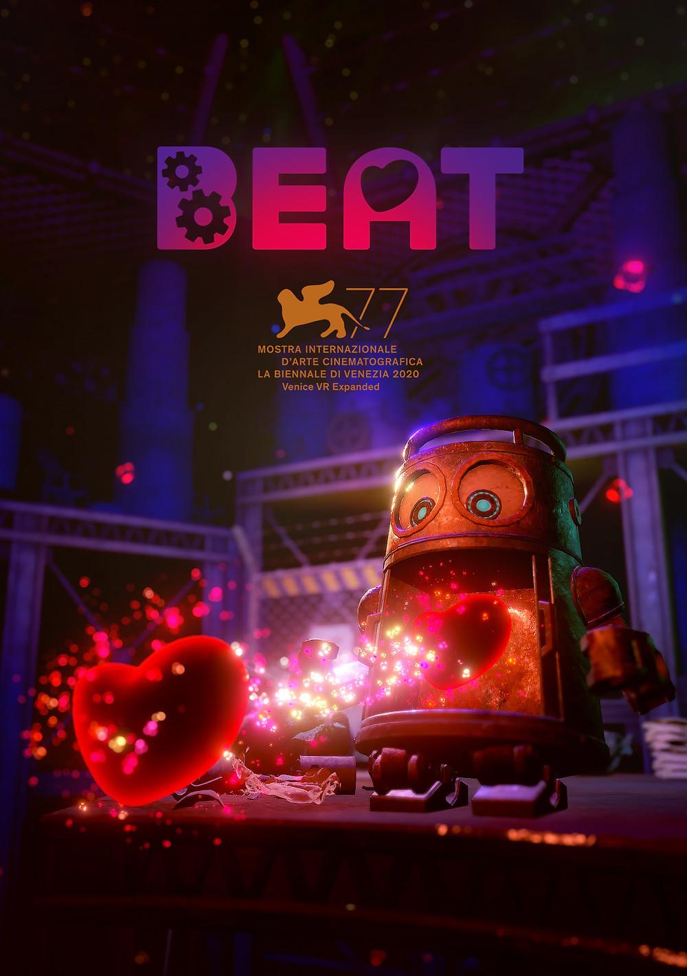 VRアニメーション『Beat』、第77回ベネチア国際映画祭 VR部門「VENICE VR EXPANDED」にノミネート