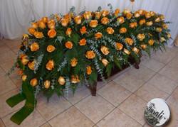cofano rose arancioni