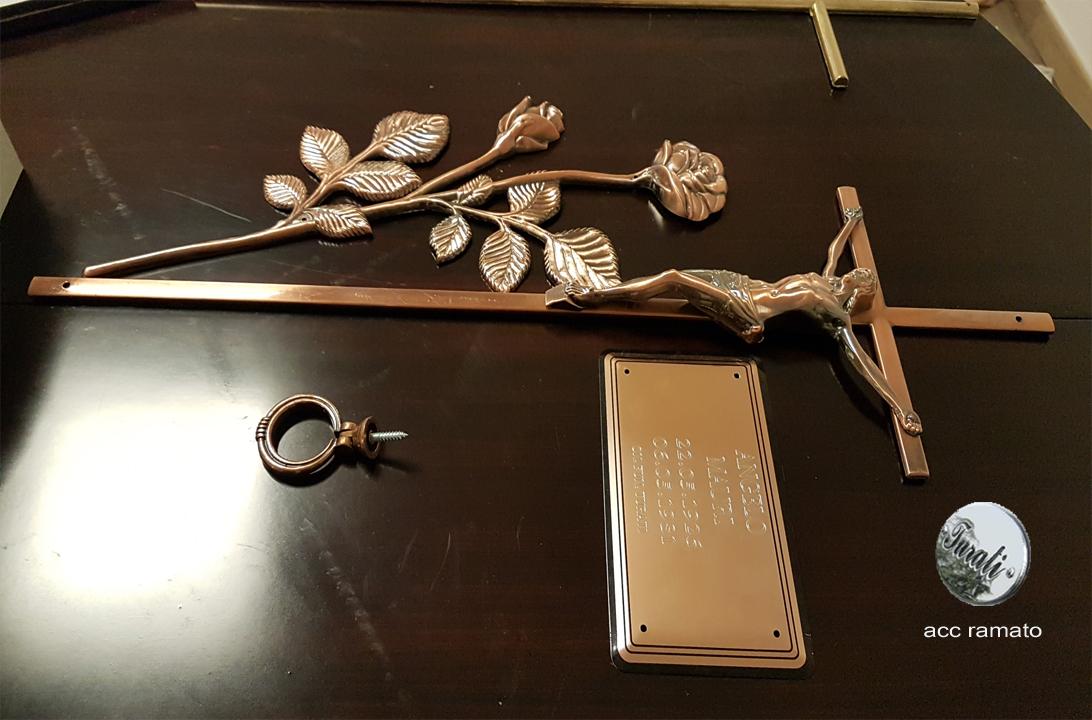 accessori ramati