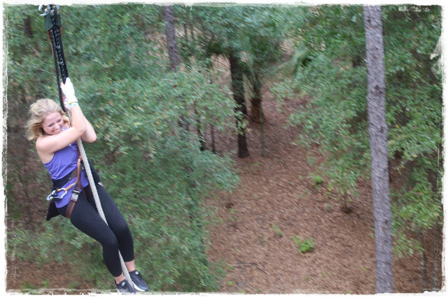 Aventura e diversão no Orlando Tree Trek Adventure Park