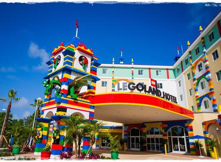 Legoland Hotel é uma opção de hospedagem para as crianças