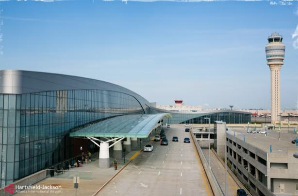 Conexão no aeroporto de Atlanta
