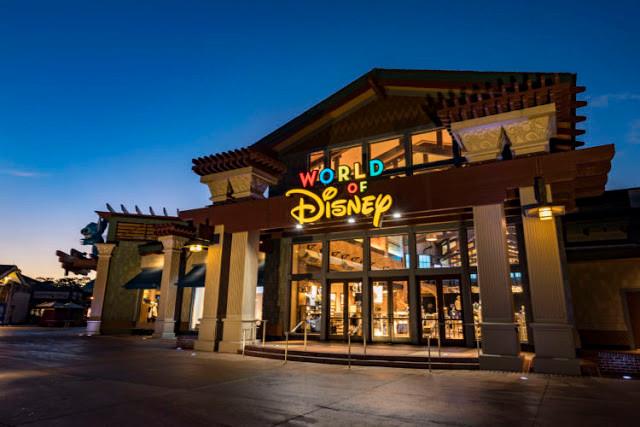 Loja World of Disney: maior loja da Disney do mundo