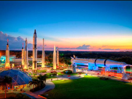 3,2,1: visite o Kennedy Space Center