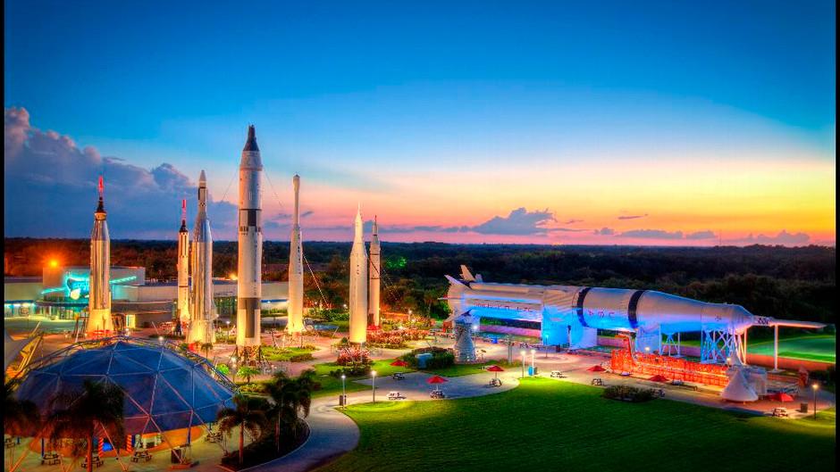 3,2,1: visite o Kennedy Space Center