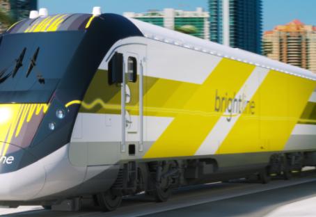 Trem que ligará Miami a Orlando terá estação em Disney Springs