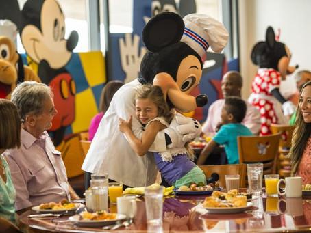 Disney Dining Plan é opção para hóspedes