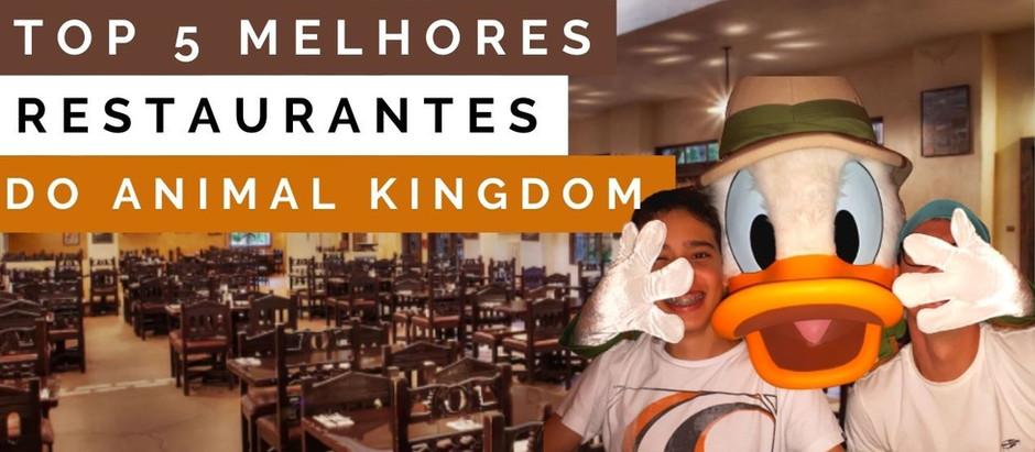 Restaurantes do Animal Kingdom
