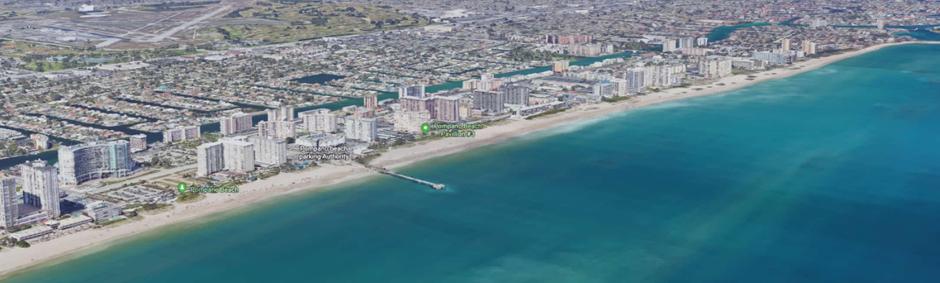 Praias próximas à Orlando: Pompano Beach