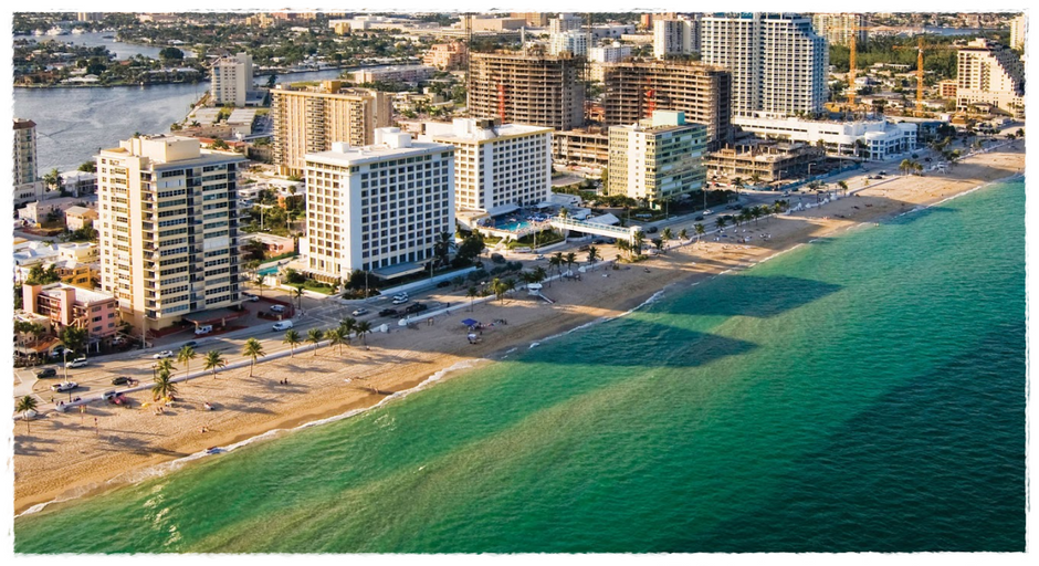 Praias próximas à Orlando: Greater Fort Lauderdale
