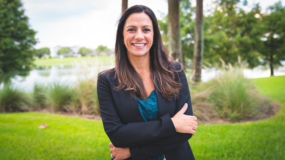 Andrea Pointon é especialista no ramo de imóveis em Orlando