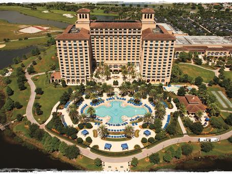 O encantador Ritz-Carlton Grande Lakes Hotel