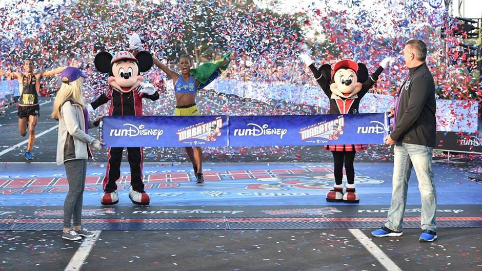 Giovanna Martins conquista sonhos na Disney Marathon