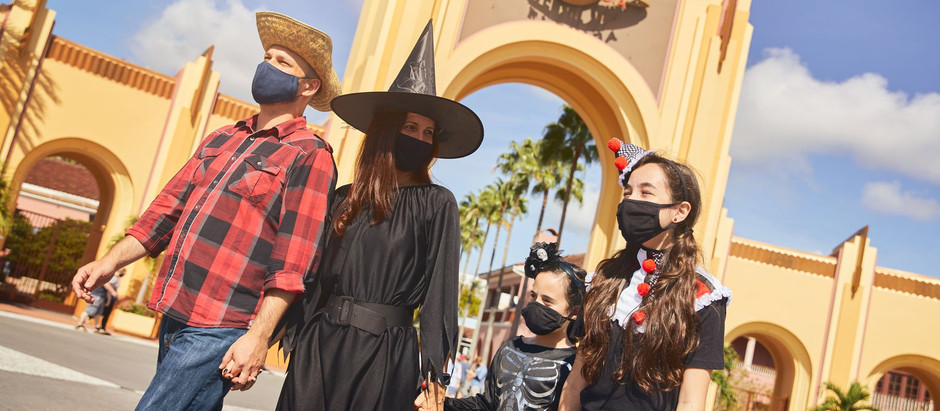 Halloween na Universal inicia com mudanças por causa da Pandemia