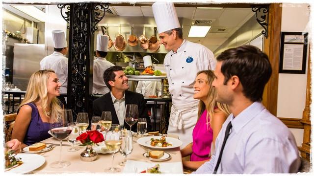 Elegância e culinária requintada são destaques no Victoria & Albert's