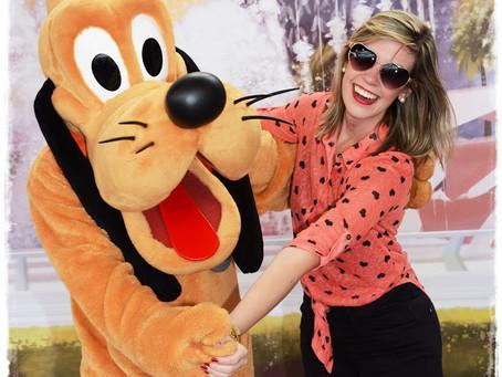 Uma brasileira apaixonada pela Disney