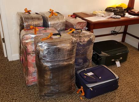 Proteja as suas malas na viagem de volta