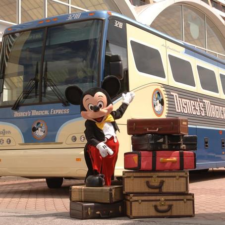 Fim do Disney's Magical Express e retorno das horas mágicas