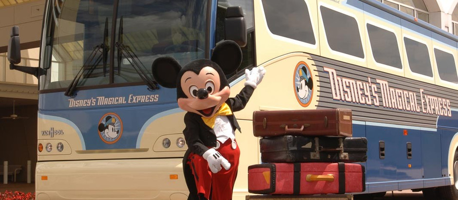 Fim do Disney's Magical Express e retorno das horas mágicas