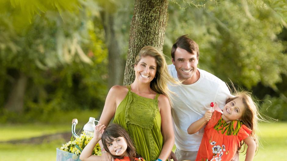 Patrícia Maldonado e a vida em família