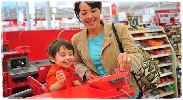 Acerte o alvo comprando no supermercado Target
