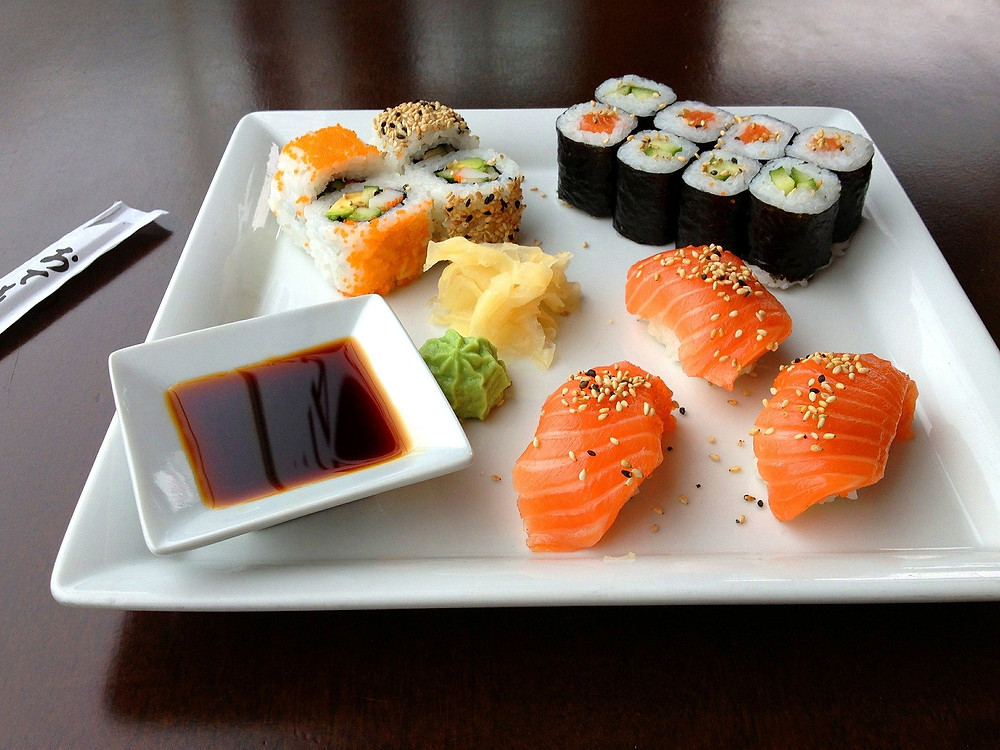 Sushi em Orlando
