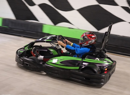 O divertido Andretti Indoor Karting & Games