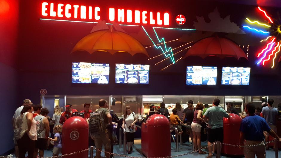 A nossa experiência no Electric Umbrella