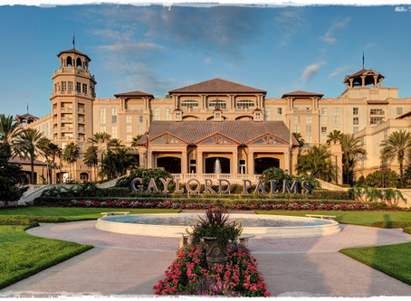 O Majestoso Gaylord Palms Resort