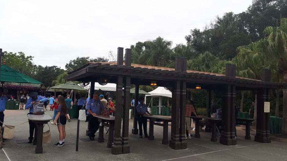 Comidas e bebidas permitidas nos parques
