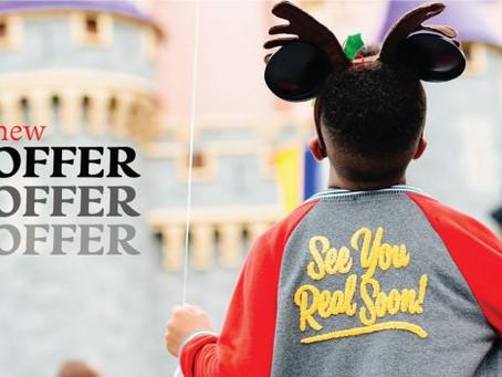 Disney anuncia oferta com ingressos gratuitos para os parques
