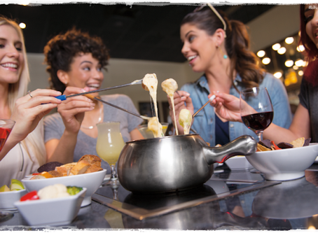Saboreie fondue no restaurante Melting Pot