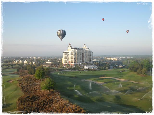 Um incrível voo com o Orlando Ballon Rides
