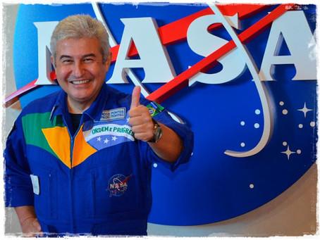 Um encontro memorável com o astronauta Marcos Pontes