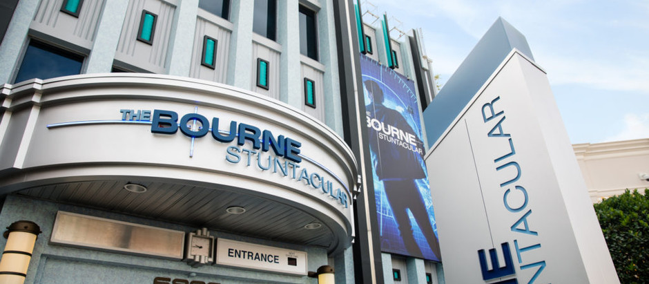 Atração de Jason Bourne é lançada na Universal Orlando
