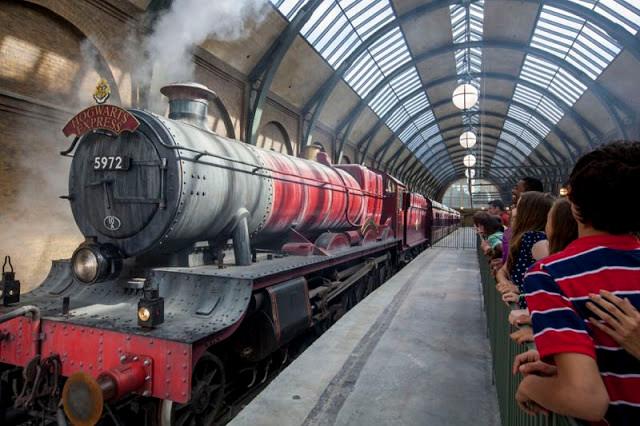 Embarque no trem para Hogwarts