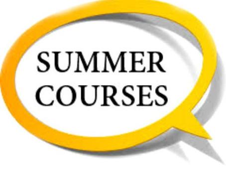 2020年暑期課程