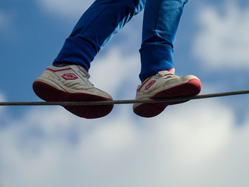 What is it like to actually take the leap of faith?