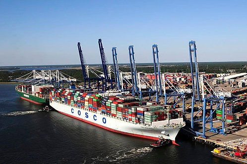 Wando Welch Container Terminal Tour