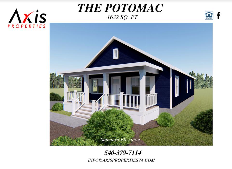 The Potomac Floor Plan