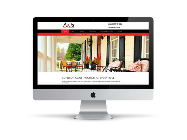 Website Design for Home Builder