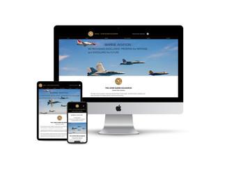 Website Design for Aviation Squadron