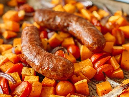 Sausage Veggie Roast