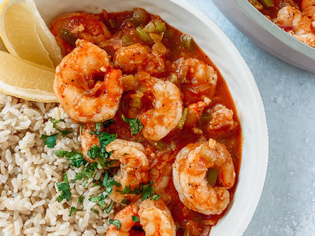 Stewed Shrimp