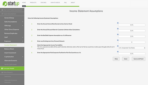 Startup_Financial_Model_Income_Statement