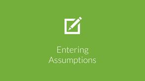Entering Convertible Debt Assumptions