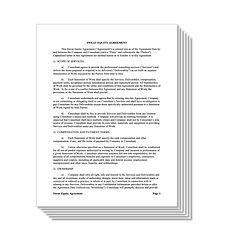 Sweat Equity Document Kit